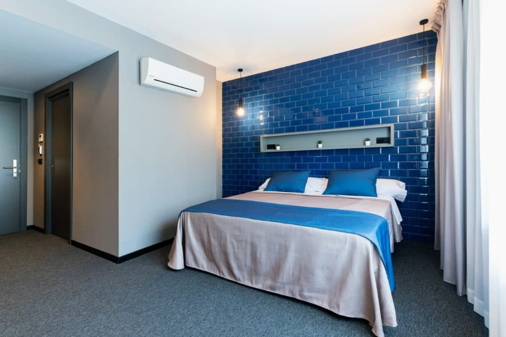 Nice room blue in Nest Style Hotel Valencia